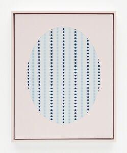 John Opera, 'Oval with dots (Blue)', 2018