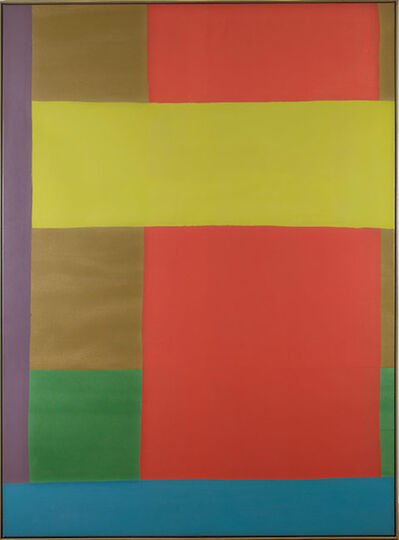 Dan Christensen, 'Purple Anchor', 1969