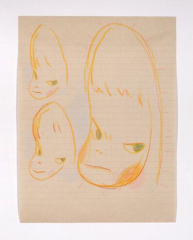 Yoshitomo Nara, 'Unitled (Portrait Drawing)', 2000