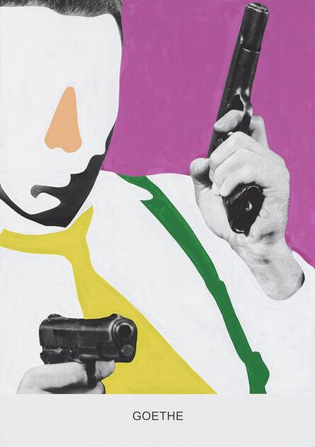 John Baldessari, 'GOETHE', 2015