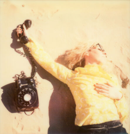 Clare Marie Bailey, 'Secretary on the Run - Contemporary, Polaroid, Photograph, Figurative, Women, 21st Century', 2015