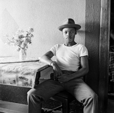 David Goldblatt, 'Young man at home, White City, Jabavu, Soweto, 1972.', 1972