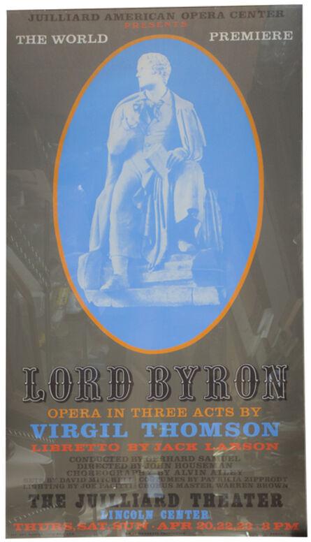 Robert Indiana, 'Lord Byron', 1972