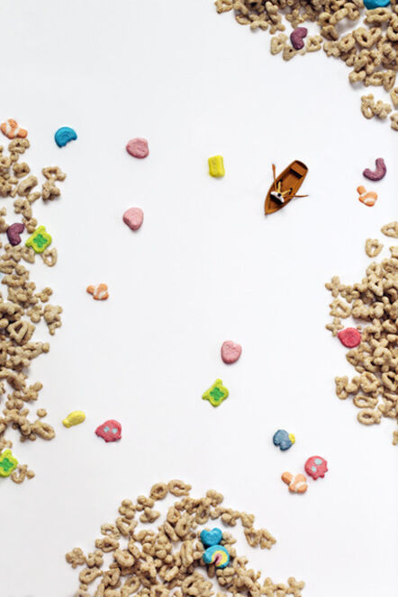Christopher Boffoli, 'Cereal Rower', 2013