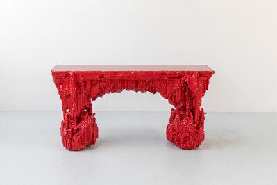 Chris Schanck, 'Grotto Console: Pomegranate', 2019