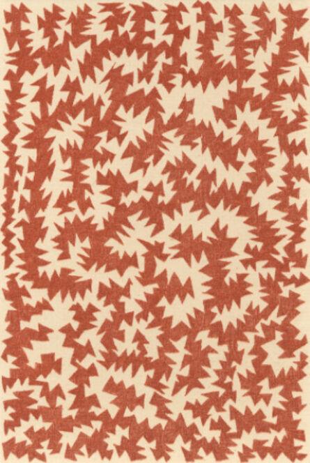 James Siena, 'Untitled Red Brown', 2007