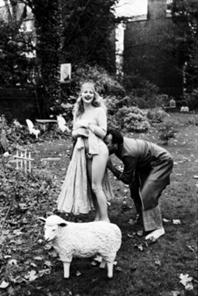 Ellen von Unwerth, 'Butt Bite: Sarabeth Stroller', 1995
