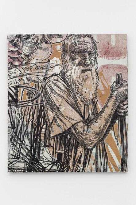 Swoon, 'Milton II (Diogenes) 4', 2018