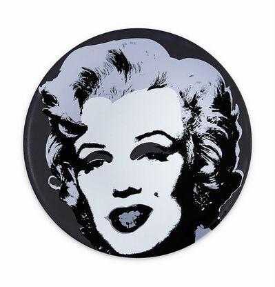 Andy Warhol, ''Black Marilyn' x Ligne Blanche', 2020