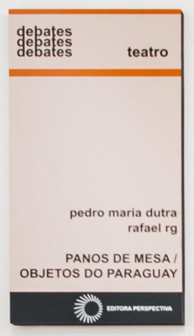 Rafael RG, 'Coleção debates', 2015