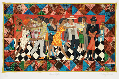Faith Ringgold, 'Groovin' High', 1996