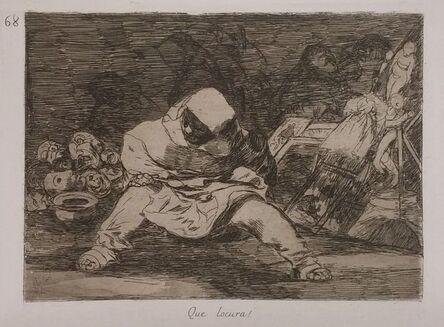 Francisco de Goya, 'QUE LOCURA!', 1808-1814