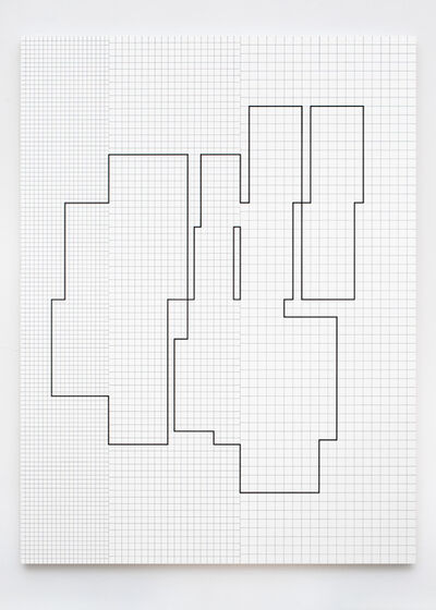 Attila Kovács, 'Koordination p13-7-1975', 1976