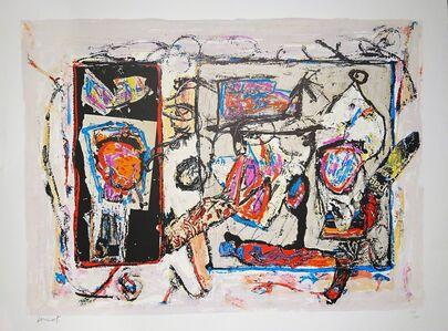 Jacques Doucet, 'Rivages-Visages-Paysages du Sepik I', 1990