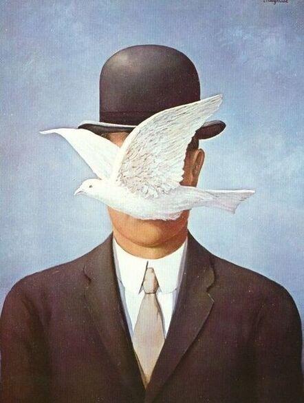 René Magritte, 'The Man the Bowler Hat (l'Homme au Chapeau Melon)', 2016