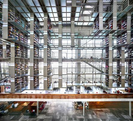 Candida Höfer, 'Biblioteca Vasconcelos Ciudad de México I 2015', 2015