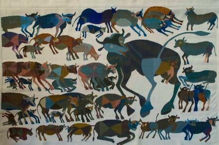 Francisco Toledo, 'Vacas', 1971