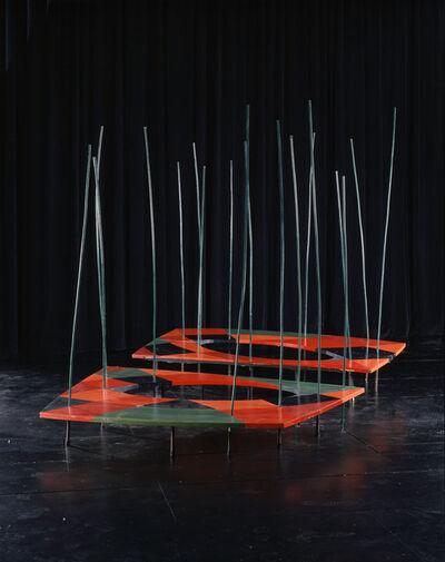 Isamu Noguchi, 'Platform  for Martha Graham's dance Embattled Garden', 1958