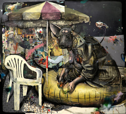 Dominik Schmitt, 'Oasis', 2019