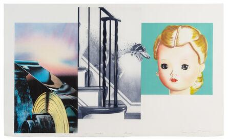James Rosenquist, 'Dog Descending a Staircase', 1980-82