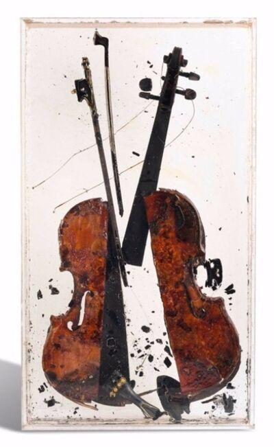 Arman, 'Colère de Paganini', 2004