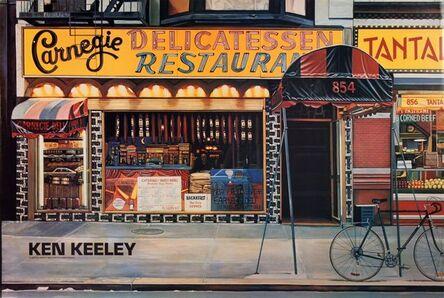Ken Keeley, 'Carnegie Delicatessen Restaurant', 1989