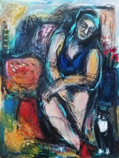 Dalia Raviv, 'Lady and Sox', 2012