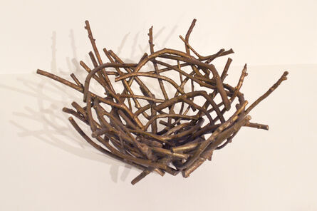 Trace Yeomans, 'Bronze Raven's Nest', 2014
