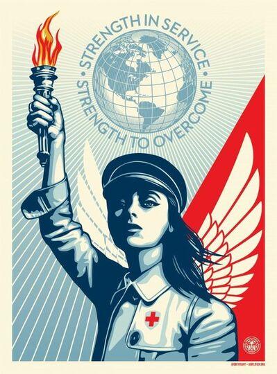 Shepard Fairey, 'Angel of Hope', 2020