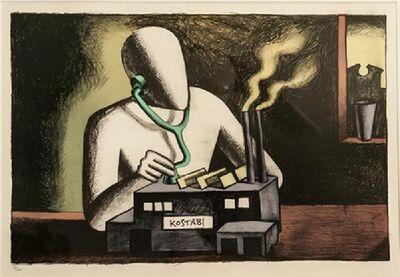 Mark Kostabi, 'Kostabi Factory', 1985