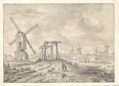 Jacob van Ruisdael, 'View of the Amstel Bridge (Hogesluis)', 1663