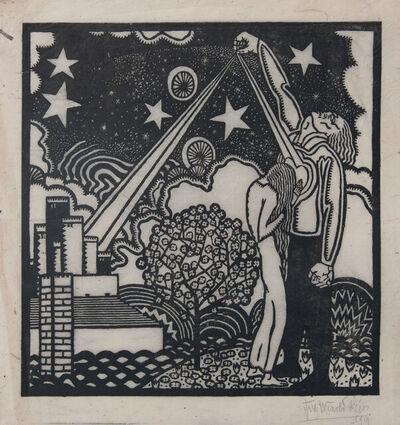 Winold Reiss, 'Liebe', 1919