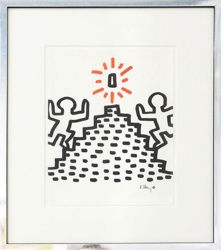 Keith Haring, 'Heading for the prize', ca. 1982