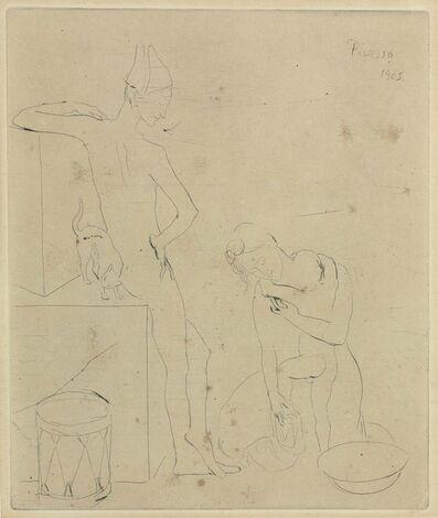 Pablo Picasso, 'Le Bain, from La Suite des Saltimbanques', 1905