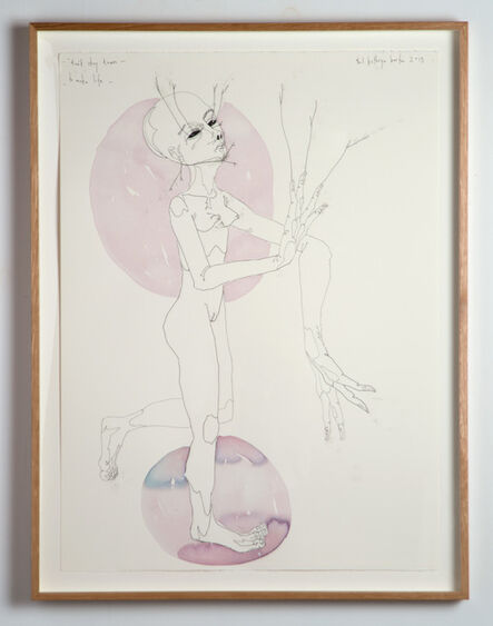 Del Kathryn Barton, 'don't stay down to make life', 2013