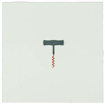 Michael Craig-Martin, 'The Catalan Suite II - Corkscrew', 2013