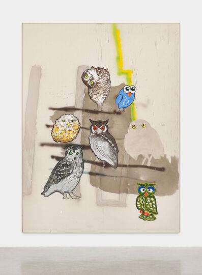 David Ostrowski, 'Political Paintings (Männer die Pfeifen)', 2019