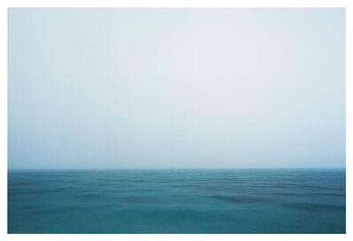 Bernhard Quade, 'Calabrian Rain Sea, Italy, Seascape', 2007