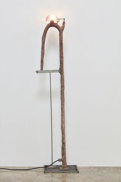 David Lynch, 'Violet Lamp', 2003
