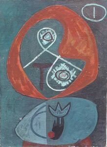 Melville Price, 'Untitled Biomorphic', c. 1945