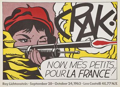 Roy Lichtenstein, 'Crak!', 1963
