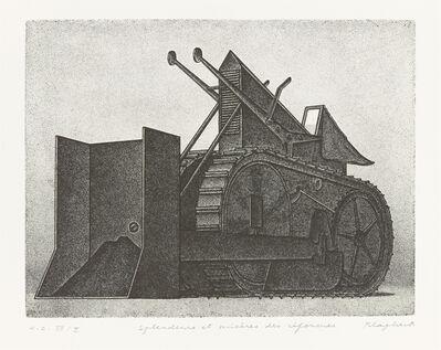 Konrad Klapheck, 'Glanz und Elend der Reformen', 1976-1977