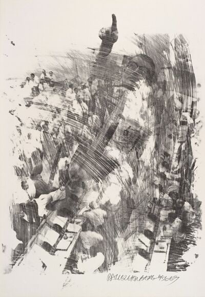 Robert Rauschenberg, 'Sky Rite (Stoned Moon)', 1969