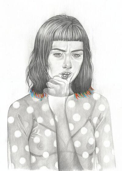 Martine Johanna, 'My Phantom Limbs (drawing)', 2017