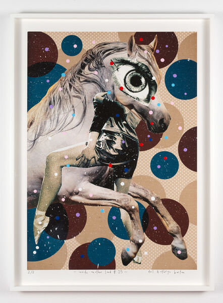 Del Kathryn Barton, 'inside another land #25', 2016