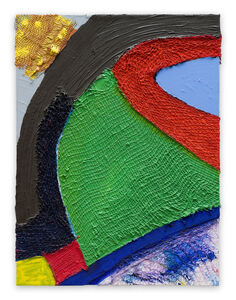 Anthony Frost, 'Crow Hoof II (Abstract painting)', 2010
