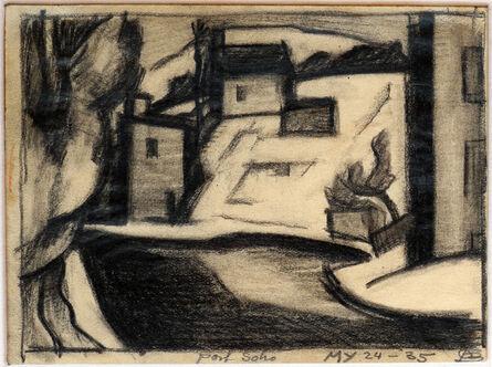 Oscar Bluemner, 'Port Soho', 1935
