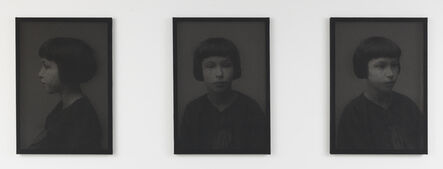 Anne-Karin Furunes, 'Of Faces XVI (Portrait of Archive Pictures)', 2016