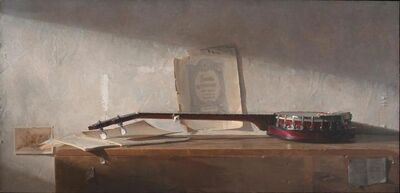 Jacob Collins, 'Banjo', 2015