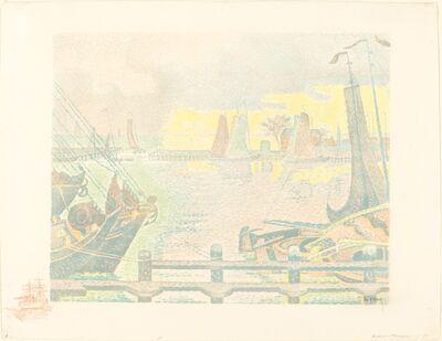Paul Signac, 'Boats at Flushing (Bateaux à Flessingue)', 1895